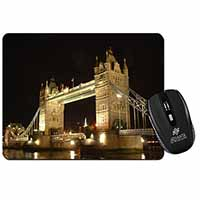London Tower Bridge Print Computer Mouse Mat Christmas Gift Idea