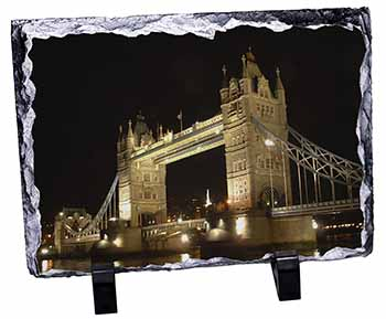 London Tower Bridge Print Photo Slate Photo Ornament Gift
