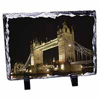 London Tower Bridge Print Photo Slate Christmas Gift Ornament