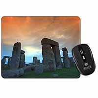 Stonehenge Solstice Sunset Computer Mouse Mat Birthday Gift Idea