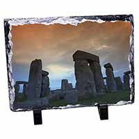 Stonehenge Solstice Sunset Photo Slate Photo Ornament Gift