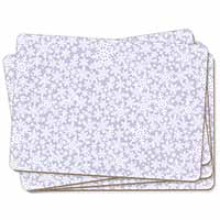 Snow Flakes Picture Placemats in Gift Box