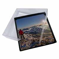 4x STEVE Picture Table Coasters Set in Gift Box