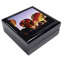 Hot Air Balloons at Night Keepsake/Jewellery Box Christmas Gift