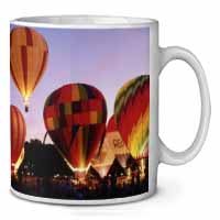 Hot Air Balloons at Night Coffee/Tea Mug Christmas Stocking Filler Gift Idea