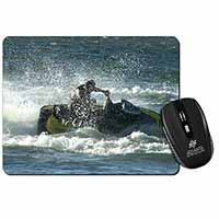 Jet Ski Skiier Computer Mouse Mat Birthday Gift Idea