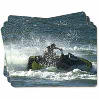 Jet Ski Skiier Picture Placemats in Gift Box