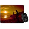 Sunset Surf Computer Mouse Mat Christmas Gift Idea