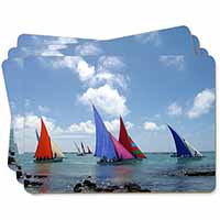 Sailing Regatta Picture Placemats in Gift Box