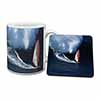 Wind Surfer Mug+Coaster Christmas/Birthday Gift Idea