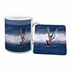 Wind Surfers Surfing Mug+Coaster Christmas/Birthday Gift Idea