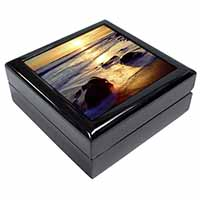 Secluded Sunset Beach Keepsake/Jewellery Box Christmas Gift