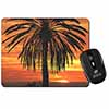 Tropical Palm Sunset Computer Mouse Mat Christmas Gift Idea