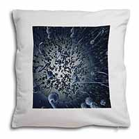 Racing Sperms-No Condoms Needed! Soft Velvet Feel Cushion Cover With Inner Pillo