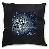 Racing Sperms-No Condoms Needed! Black Border Satin Feel Cushion Cover With Pill