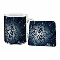 Racing Sperms-No Condoms Needed! Mug+Coaster Christmas/Birthday Gift Idea