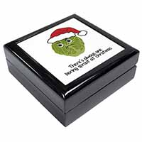 Christmas Grumpy Sprout Keepsake/Jewellery Box Birthday Gift Idea