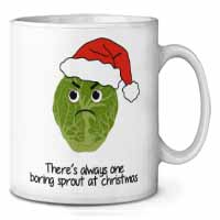 Christmas Grumpy Sprout Coffee/Tea Mug Gift Idea