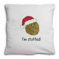 Chirstmas Stuffing Ball Soft Velvet Feel Scatter Cushion