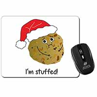 Chirstmas Stuffing Ball Computer Mouse Mat Birthday Gift Idea
