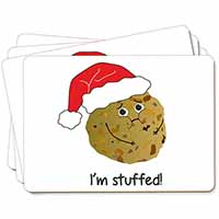 Chirstmas Stuffing Ball Picture Placemats in Gift Box