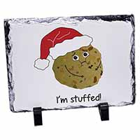 Chirstmas Stuffing Ball Photo Slate Photo Ornament Gift