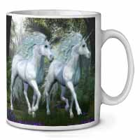 Two White Unicorns Coffee/Tea Mug Gift Idea