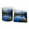 Tranquil Lake Mug+Coaster Christmas/Birthday Gift Idea