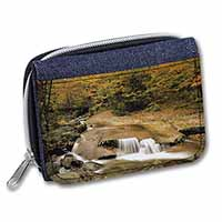 Autumn Waterfall Girls/Ladies Denim Purse Wallet Birthday Gift Idea