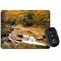 Autumn Waterfall Computer Mouse Mat Birthday Gift Idea