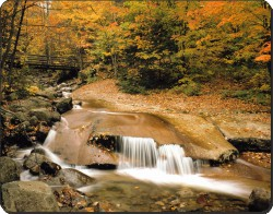 Autumn Waterfall, W-4
