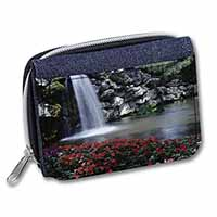 Tranquil Waterfall Girls/Ladies Denim Purse Wallet Birthday Gift Idea