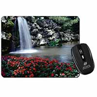 Tranquil Waterfall Computer Mouse Mat Birthday Gift Idea