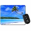 Tropical Paradise Beach Computer Mouse Mat Christmas Gift Idea