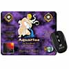 Aquarius Star Sign Birthday Gift Computer Mouse Mat Christmas Gift Idea