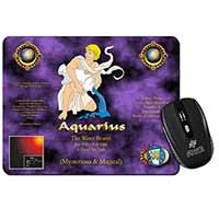 Aquarius Star Sign Birthday Gift Computer Mouse Mat Birthday Gift Idea