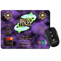 Pisces Star Sign Birthday Gift Computer Mouse Mat Birthday Gift Idea