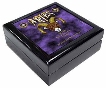 Aries Astrology Star Sign Birthday Gift Keepsake/Jewel Box Birthday Gift Idea