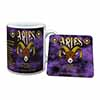Aries Astrology Star Sign Birthday Gift Mug+Coaster Christmas/Birthday Gift Idea