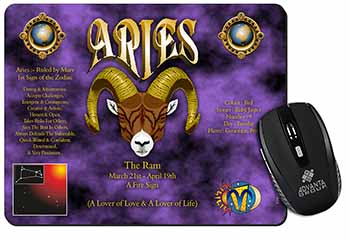 Aries Astrology Star Sign Birthday Gift Computer Mouse Mat Birthday Gift Idea