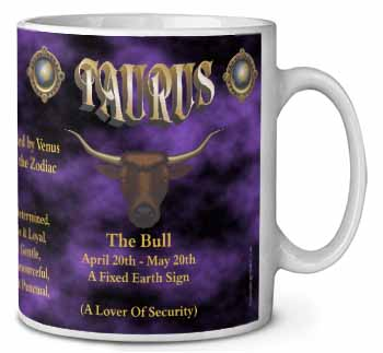 Taurus Star Sign Birthday Gift Coffee/Tea Mug Gift Idea