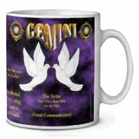 Gemini Star Sign Birthday Gift Coffee/Tea Mug Christmas Stocking Filler Gift Ide