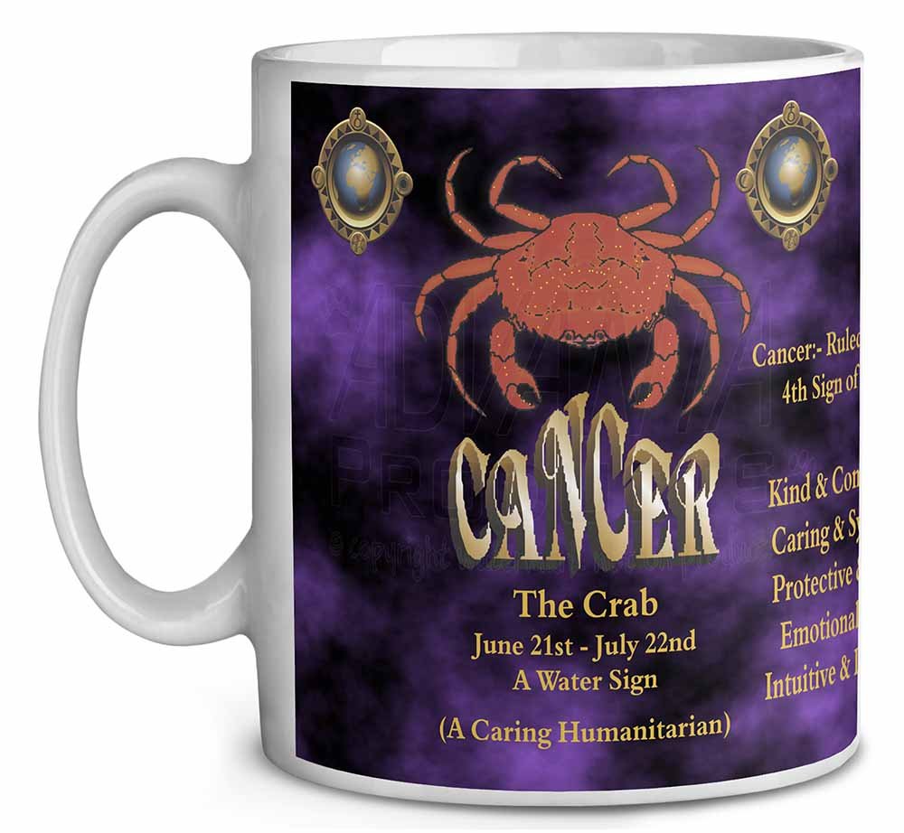 Cancer Star Sign Birthday Gift Coffee Tea Mug Christmas Stocking Filler Ide