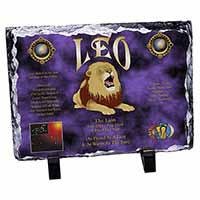 Leo Astrology Star Sign Birthday Gift Photo Slate Photo Ornament Gift