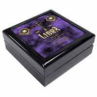 Libra Star Sign of the Zodiac Keepsake/Jewel Box Birthday Gift Idea