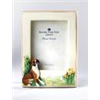Brindle Boxer Dog Photo Frame by Border Fine Arts
