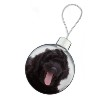 Black Labradoodle Dog Christmas Bauble Decoration