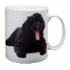 Black Labradoodle Dog Coffee Mug Birthday Gift Idea