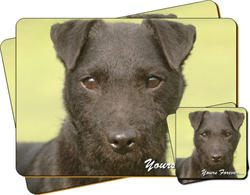 "Parson Russel Terrier Dog""Yours Forever"" Sentiment Coaster and Placemat Gift Set"