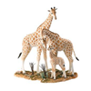 Country Artists Large Giraffe Family Animal Figurine By Keith Sherwin